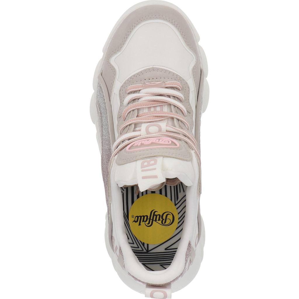 Buffalo Sneaker »Lederimitat/Textil«