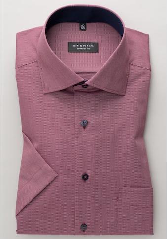 Eterna Businesshemd »COMFORT FIT«, dieses Natté-Kurzarmhem kaufen