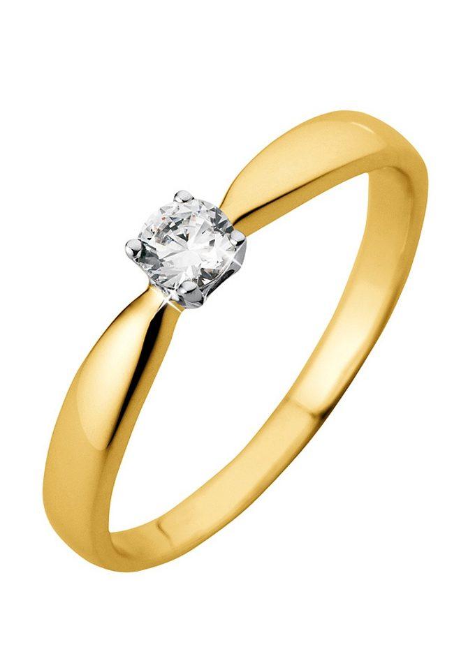 Firetti Verlobungsring Goldring | Schmuck > Ringe > Verlobungsringe | Goldfarben | Firetti