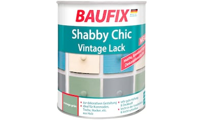 BAUFIX Acryl Buntlack »Shabby Chic«, Antik Lack vintage, grün, 750 ml kaufen