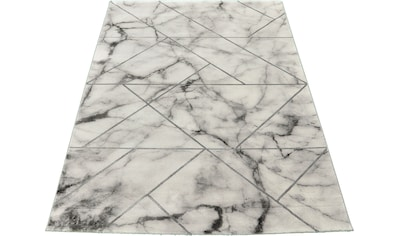 merinos Teppich »Craft 23299«, rechteckig, 12 mm Höhe, Wohnzimmer, Marmor Optik kaufen