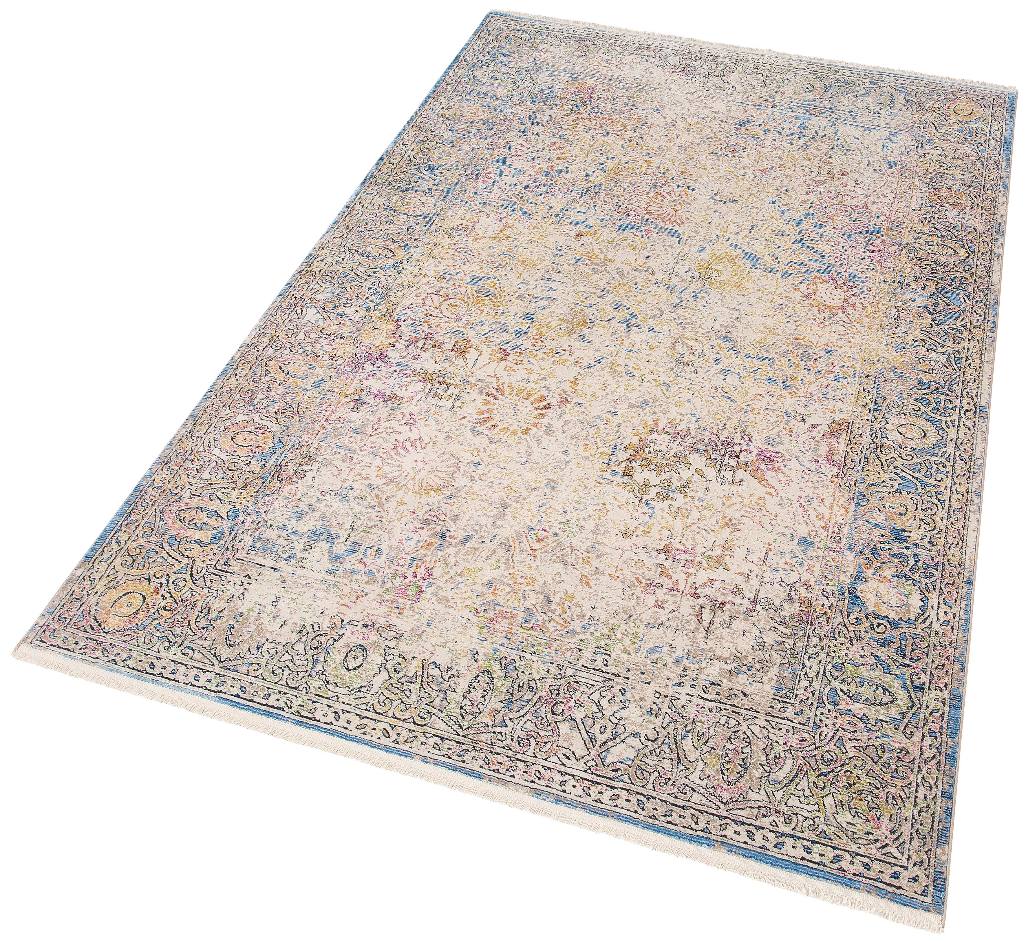 Teppich Colorful 24030 merinos rechteckig Höhe 7 mm maschinell gewebt