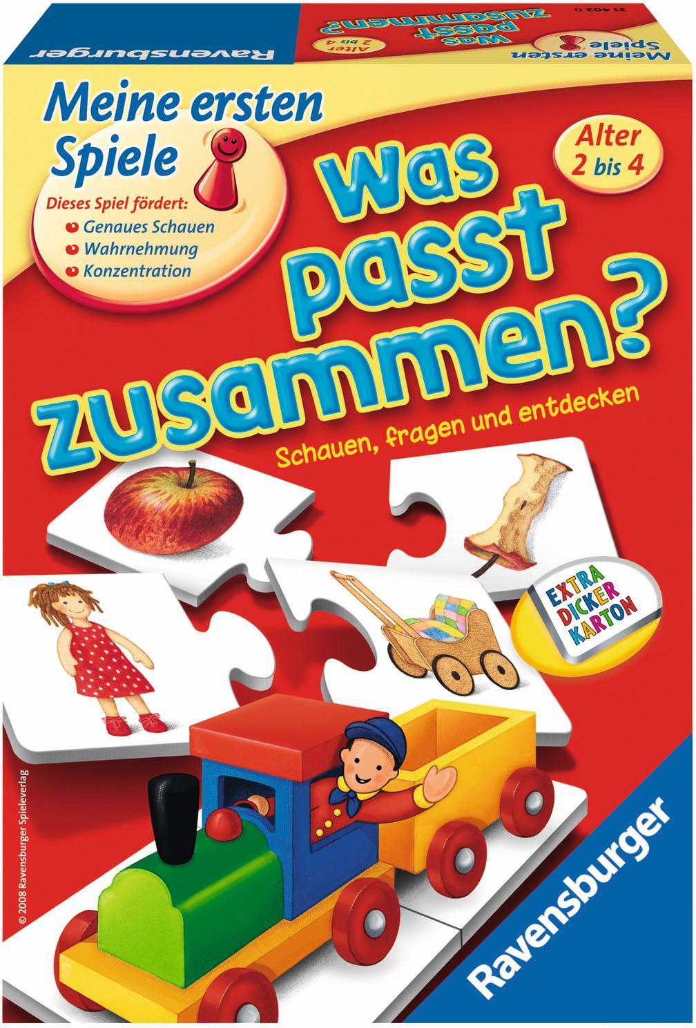 """Ravensburger Spiel """"Was passt zusammen?"""" Technik & Freizeit/Spielzeug/Lernspielzeug/Lernspiele"""