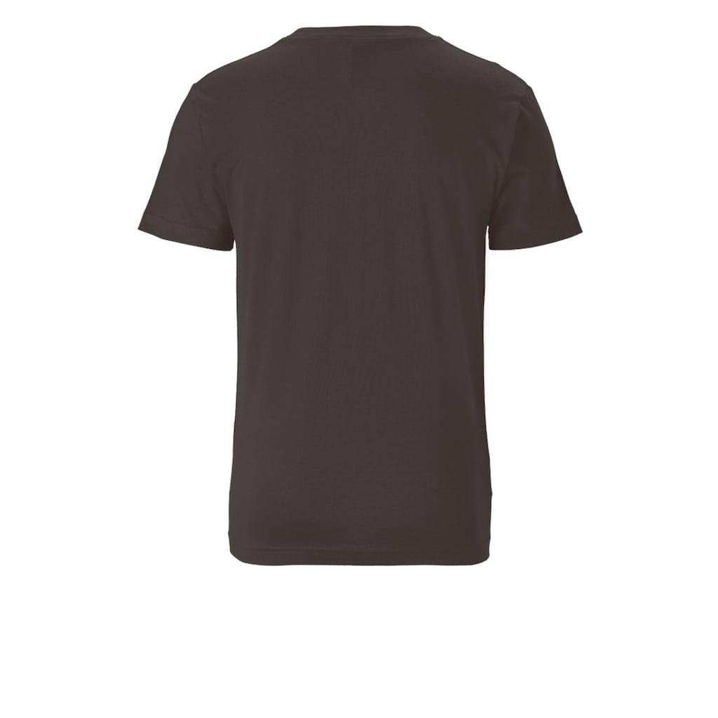 LOGOSHIRT T-Shirt »BATMAN - WINGS«, mit coolem Superhelden-Logo