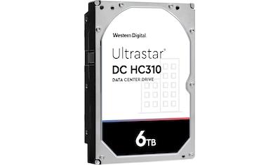 Western Digital HDD-Festplatte »Ultrastar DC HC310 6TB«, Bulk kaufen