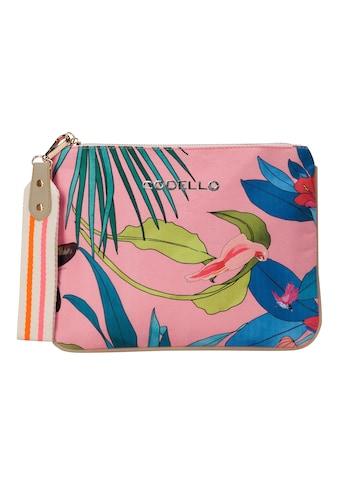 Codello Canvas - Kulturtasche mit Tropical - Print kaufen
