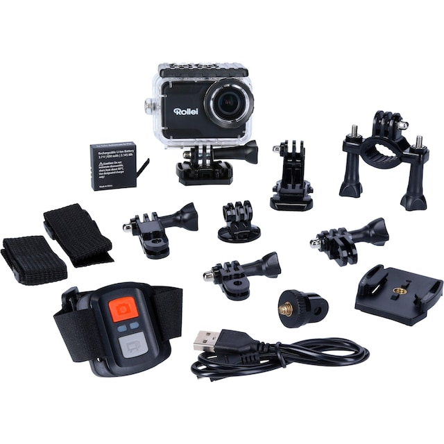 Rollei »6S Plus« Action Cam (4K Ultra HD, WLAN (Wi-Fi))