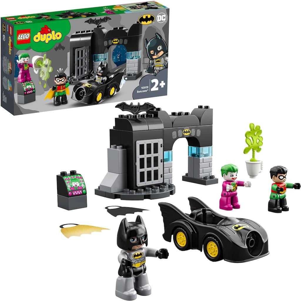 LEGO® Konstruktionsspielsteine »Bathöhle (10919), LEGO® DUPLO® DC Comics«, (33 St.)