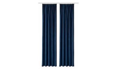 Vorhang, »Amy«, VHG, Kräuselband 2 Stück kaufen