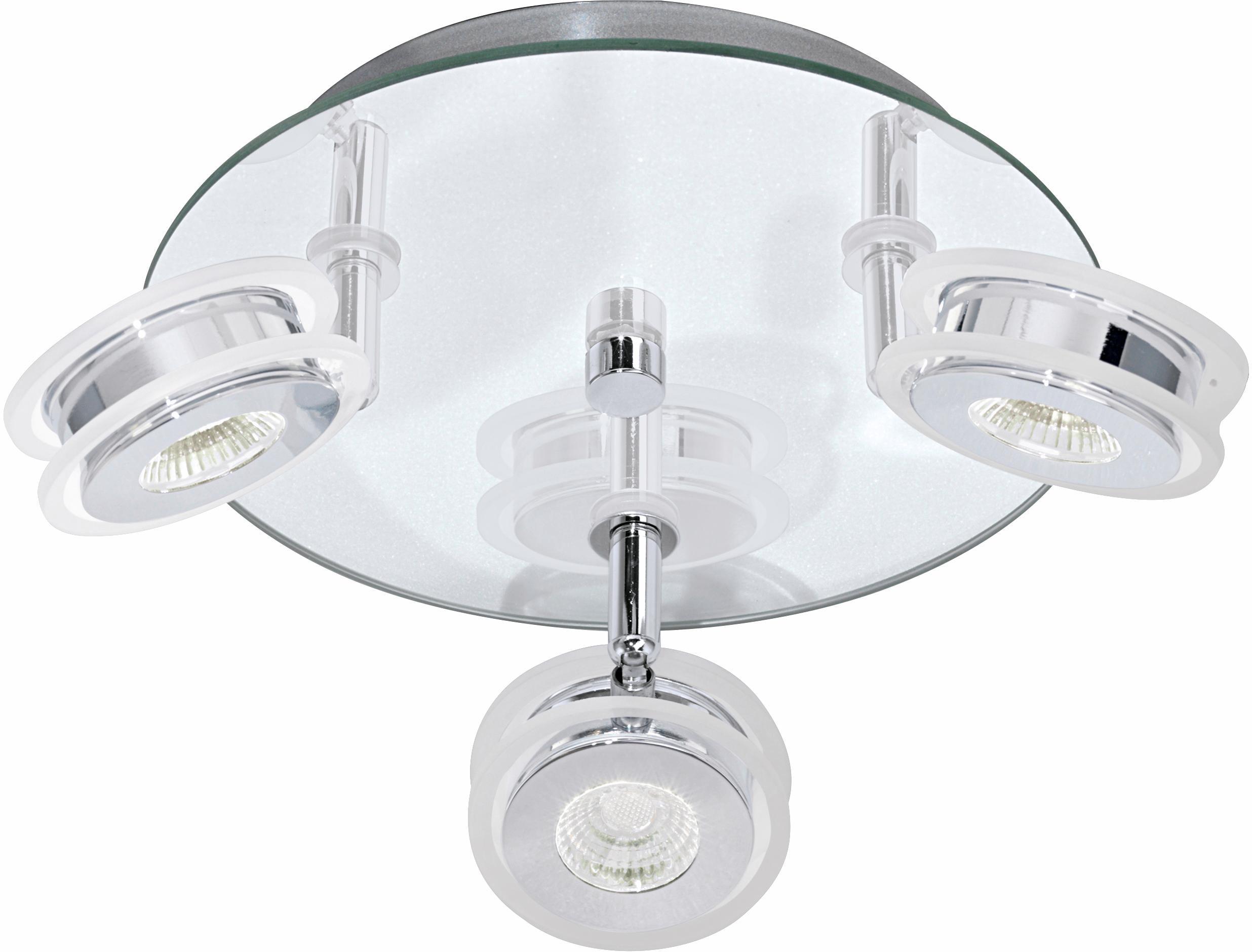 EGLO LED Deckenstrahler AGUEDA, LED-Board, Warmweiß, LED Deckenleuchte, LED Deckenlampe