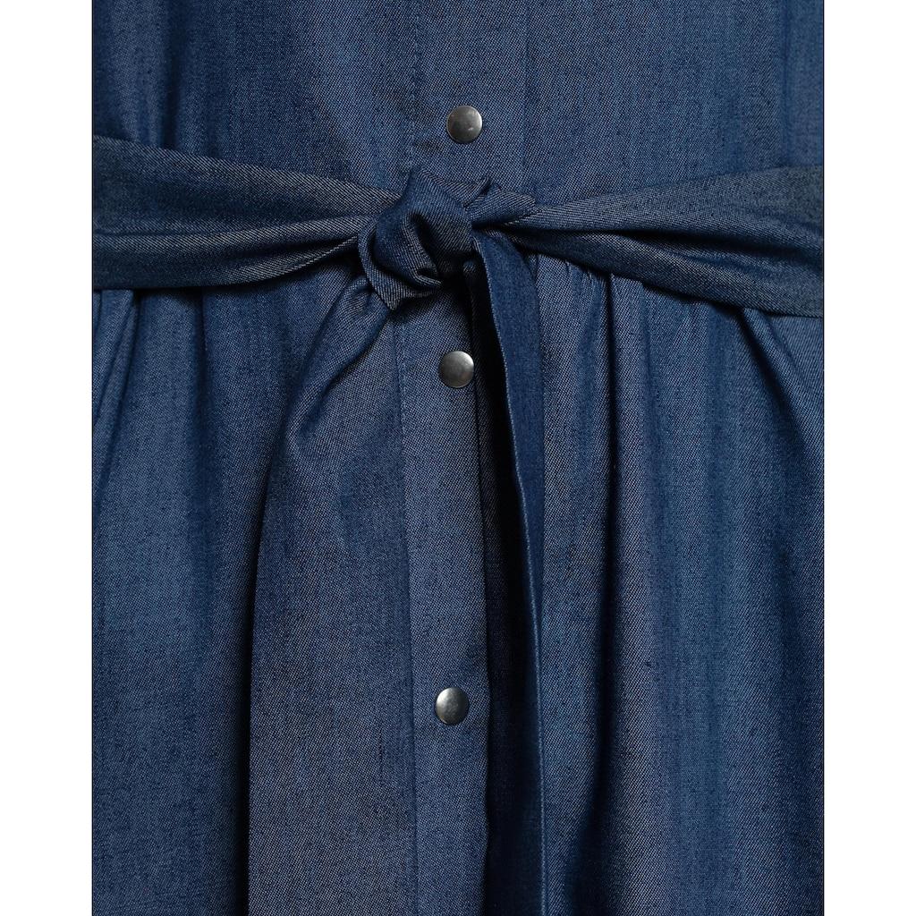 nife Jerseykleid »S157«, im lässigen Jeans-Look