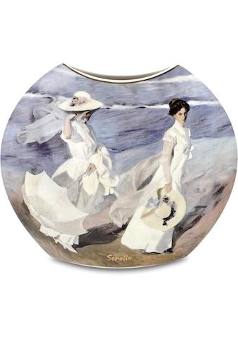 "Goebel Tischvase »Vase Joaquin Sorolla - ""Boote / Spaziergang am Strand""« kaufen"