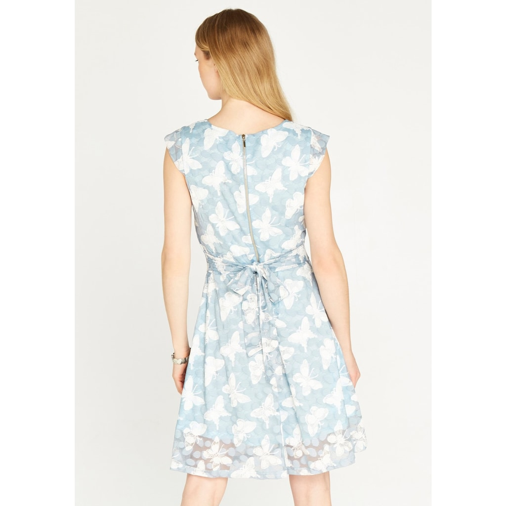 Apricot Meshkleid »Dot Mesh A-Line Dress«, mit Schmetterlingen