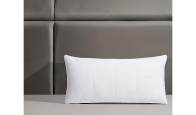 RIBECO Microfaserkissen »Isabel«, Füllung: Polyester, Bezug: Polyester, (1 St.), Luxus... kaufen