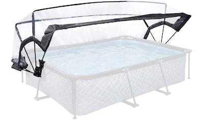 EXIT Poolüberdachung für Framepools mit BxLxH 290x190 - 300x200 cm kaufen