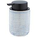 WENKO Seifenspender »Nole«, Flüssigseifen-Spender, Spülmittel-Spender, Keramik, 300 ml