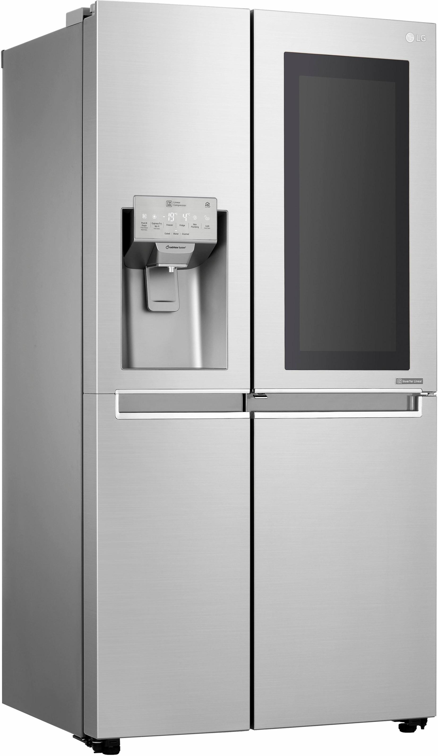 Amerikanischer Kühlschrank Von Lg : Side by side kühlschrank auf rechnung raten kaufen