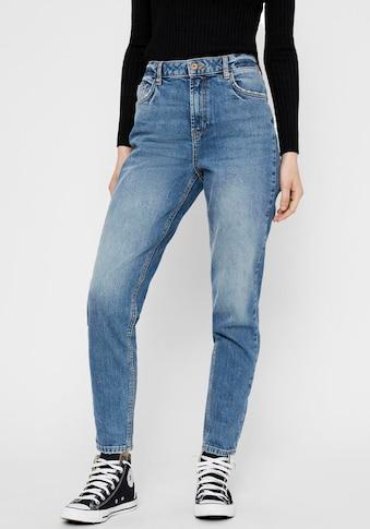 pieces Mom-Jeans »PCLEAH«, Leichter Stretch kaufen