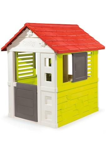 Smoby Spielhaus Natur kaufen