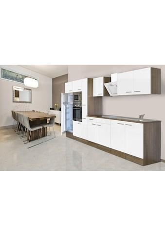 RESPEKTA Küchenzeile »York«, mit E-Geräten, Breite 360 cm kaufen
