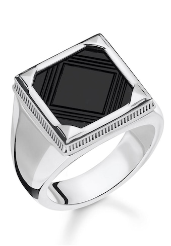 THOMAS SABO Silberring »Onyx, TR2211-698-11-60, 62, 64, 66, 68«, mit Onyx kaufen