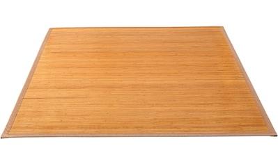 Andiamo Teppich »Bambus«, rechteckig, 17 mm Höhe, Wendeteppich, Wohnzimmer kaufen
