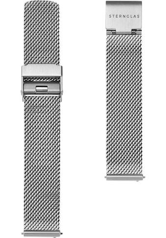 STERNGLAS Uhrenarmband »Milanaise 16 silber, SBA00/400« kaufen