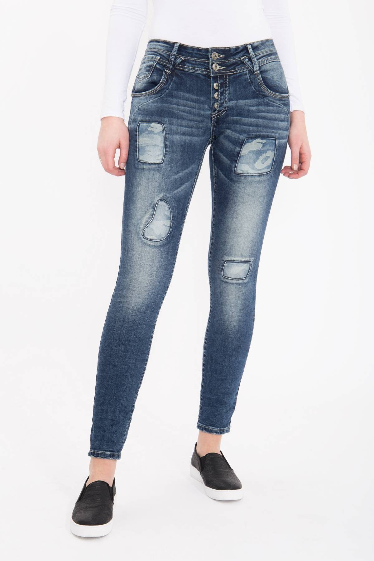 Blue Monkey Skinny-fit-Jeans Marie 1751 | 04251484618199