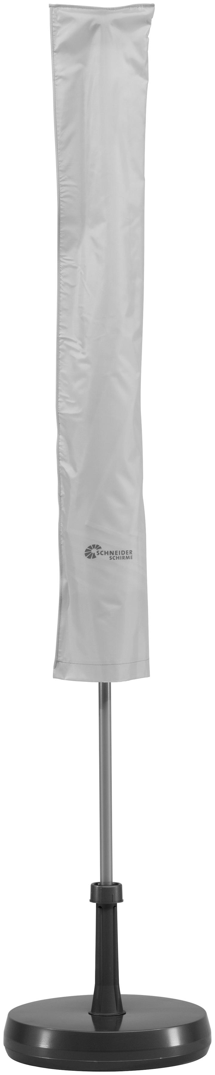Schneider Schirme Schutzplane 817-00, für bis Ø 200 cm grau Sonnenschirme -segel Gartenmöbel Gartendeko