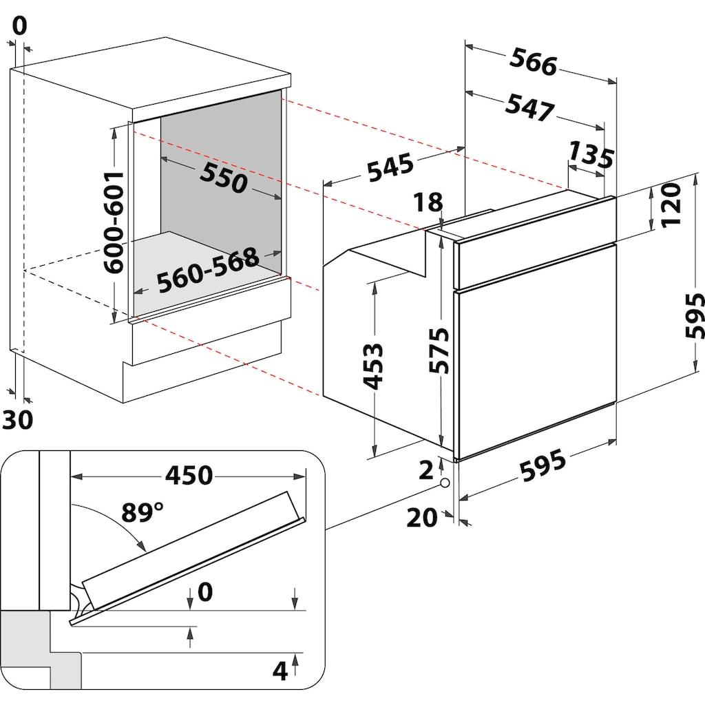 BAUKNECHT Elektro-Herd-Set »Heko Samba«, HVP2 NN5F IN, (Set)