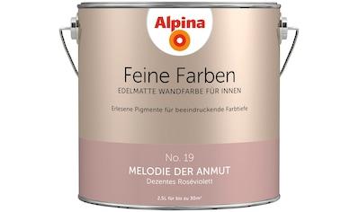 ALPINA Wand -  und Deckenfarbe »Feine Farben  -  Melodie der Anmut«, 2,5 l kaufen