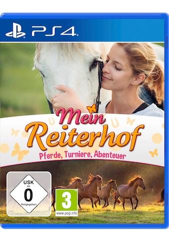 Markt+Technik Spiel »Mein Reiterhof«, PlayStation 4 kaufen