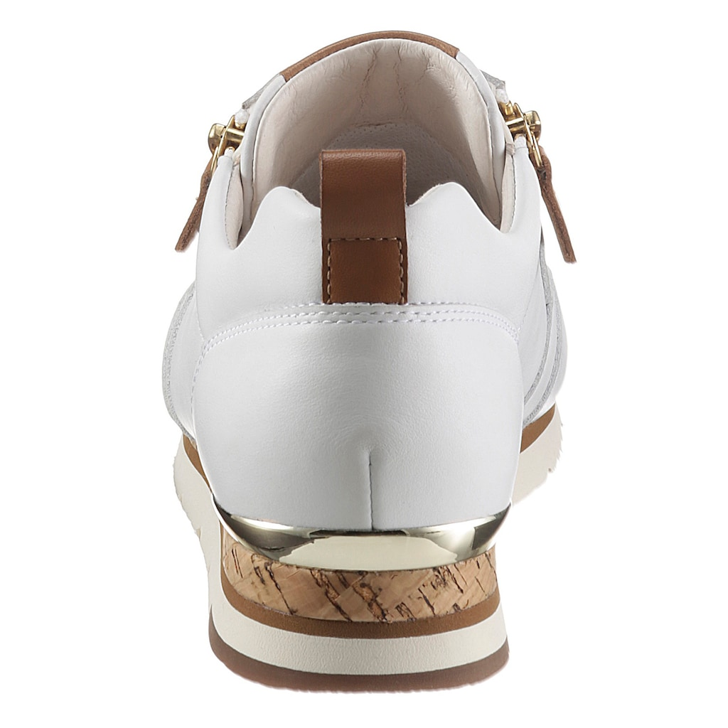 Gabor Keilsneaker, mit kontrastfarbenen Details