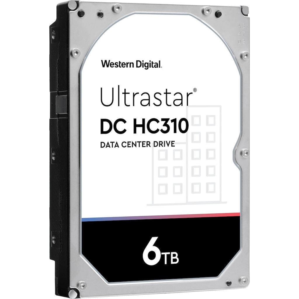 Western Digital HDD-Festplatte »Ultrastar DC HC310 6TB SAS«, Bulk