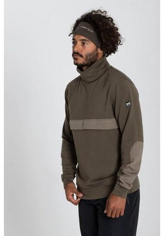 SUPER.NATURAL Sweatshirt »M ALPINE TURTLENECK«, angenehmer Merino-Materialmix kaufen