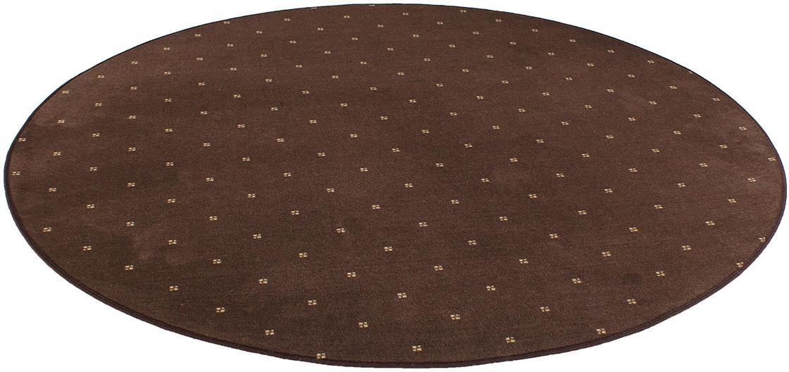 Teppich Oxford Living Line rund Höhe 7 mm maschinell gewebt