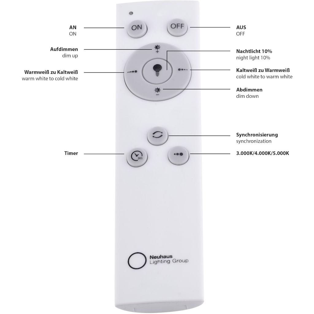 Leuchten Direkt LED Panel »FLAT«, LED-Board, 1 St., Warmweiß-Neutralweiß-Kaltweiß, LED Deckenleuchte, LED Deckenlampe