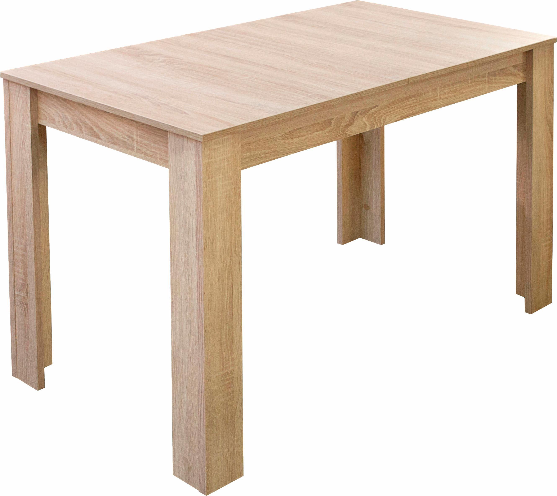 Mäusbacher Esstisch, Breite 80/110/120 cm mit Auszug weiß Esstisch Esstische rechteckig Tische