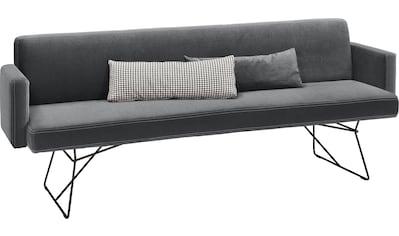 set one by Musterring Polsterbank »Nevada«, Breite 218 cm, mit Armlehne kaufen