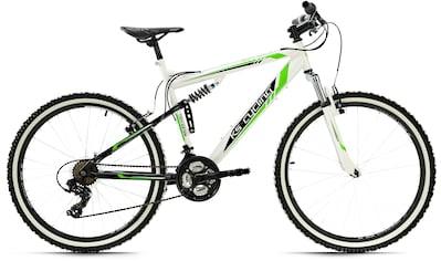 KS Cycling Mountainbike »Scrawler«, 21 Gang, Shimano, Tourney Schaltwerk, Kettenschaltung kaufen