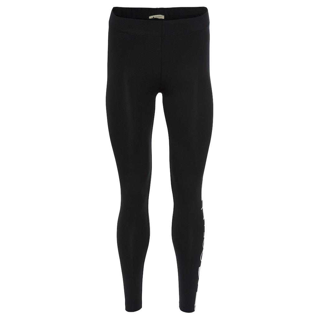 Ocean Sportswear Leggings, (Packung, 2er-Pack), mit Kontraststreifen und Logodruck