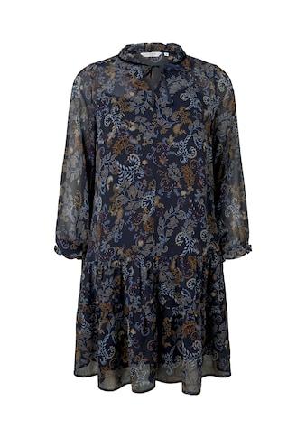 TOM TAILOR MY TRUE ME Babydollkleid »Babydoll - Kleid im Paisley - Muster« kaufen