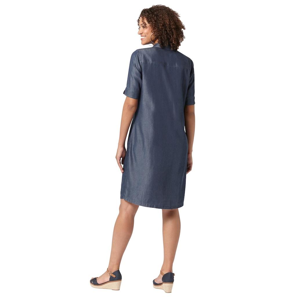 Casual Looks Hemdblusenkleid »Kleid«