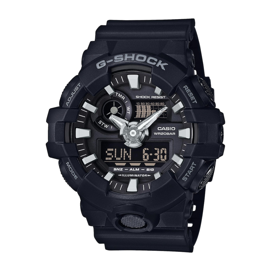 CASIO G-SHOCK Chronograph »GA-700-1BER«