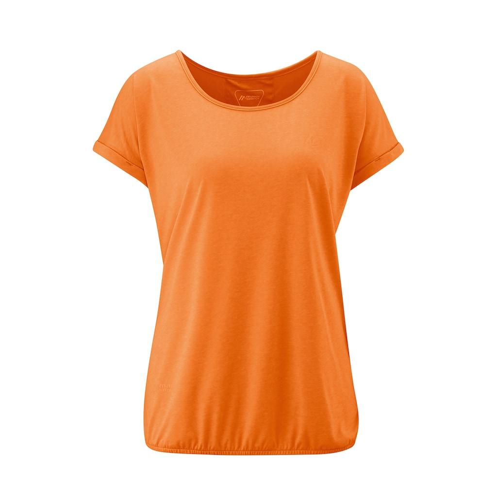 Maier Sports Funktionsshirt »Lulea T-Shirt W«, Modisches T-Shirt in leichter Single Jersey Ware
