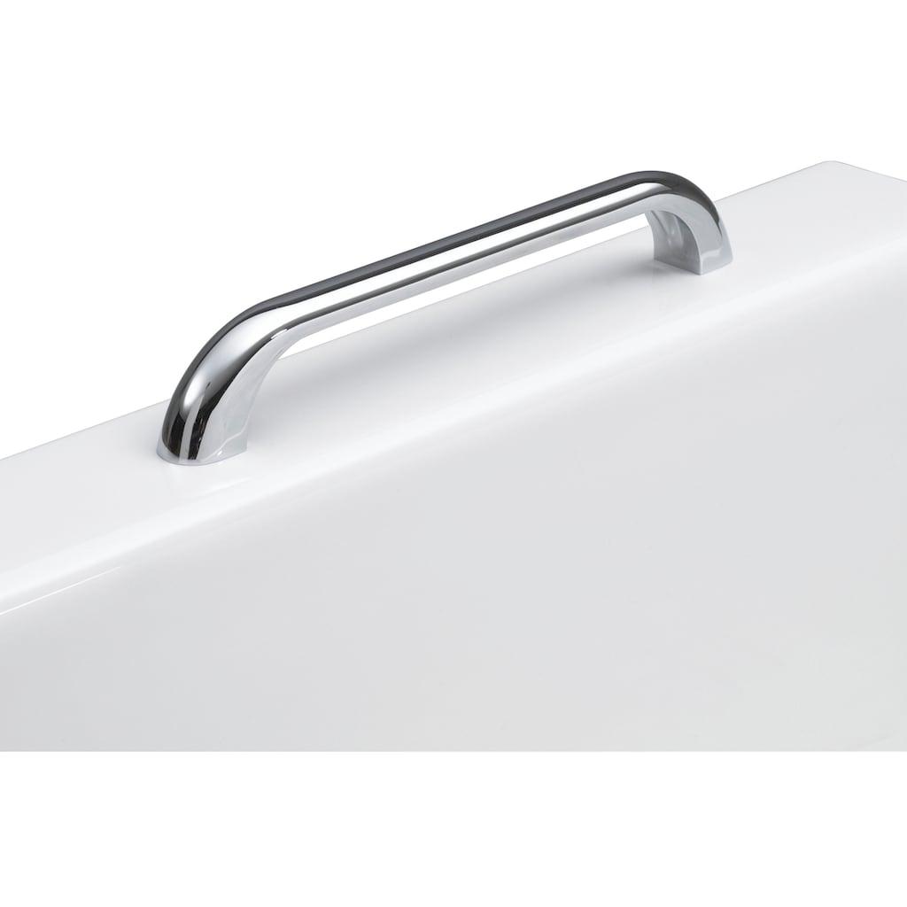 OTTOFOND Badewanne »Jamaica«, mit Wannenträger, Ablaufgarnitur, Nackenkissen und Griffe