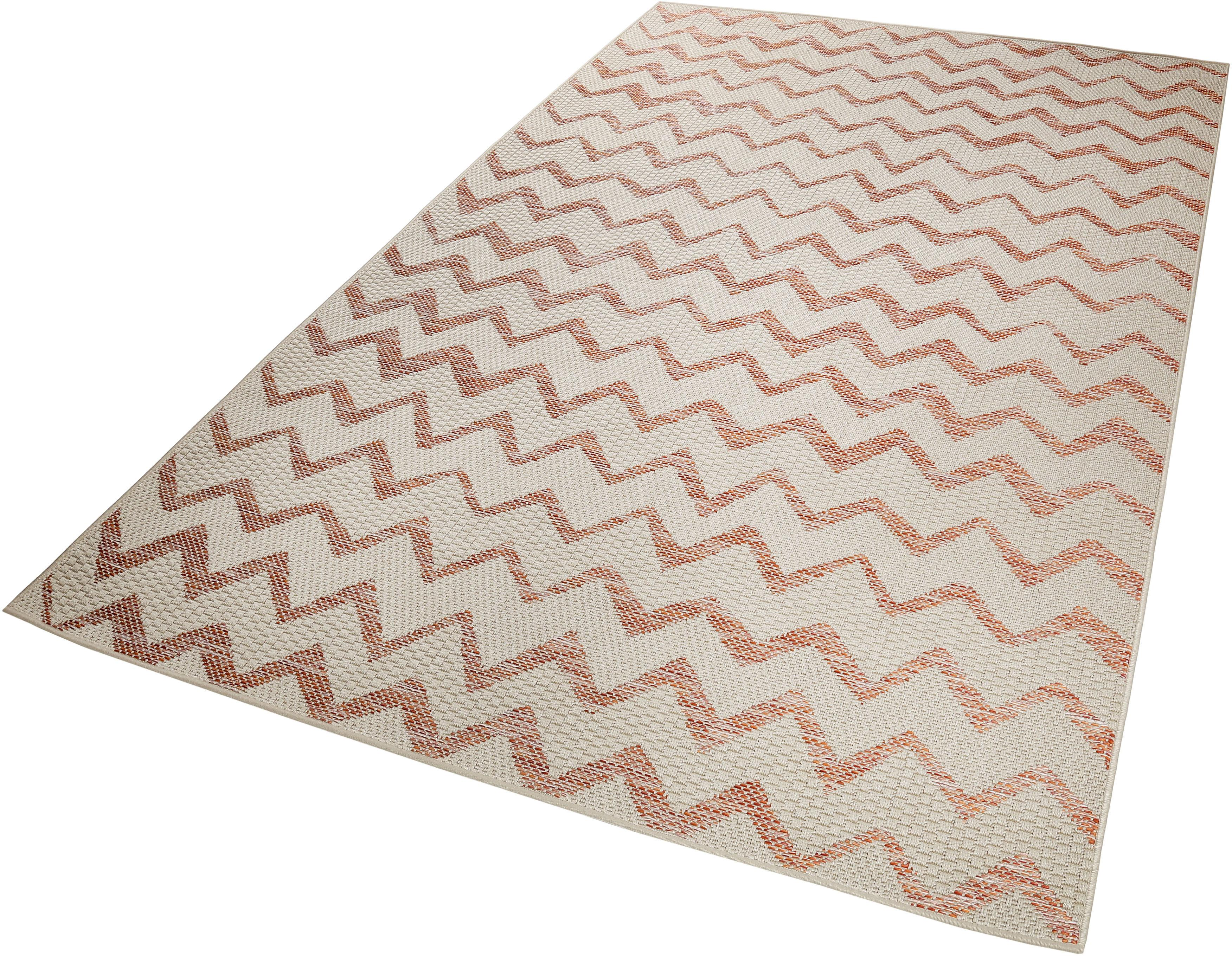Teppich Zig Zag Esprit rechteckig Höhe 5 mm maschinell gewebt