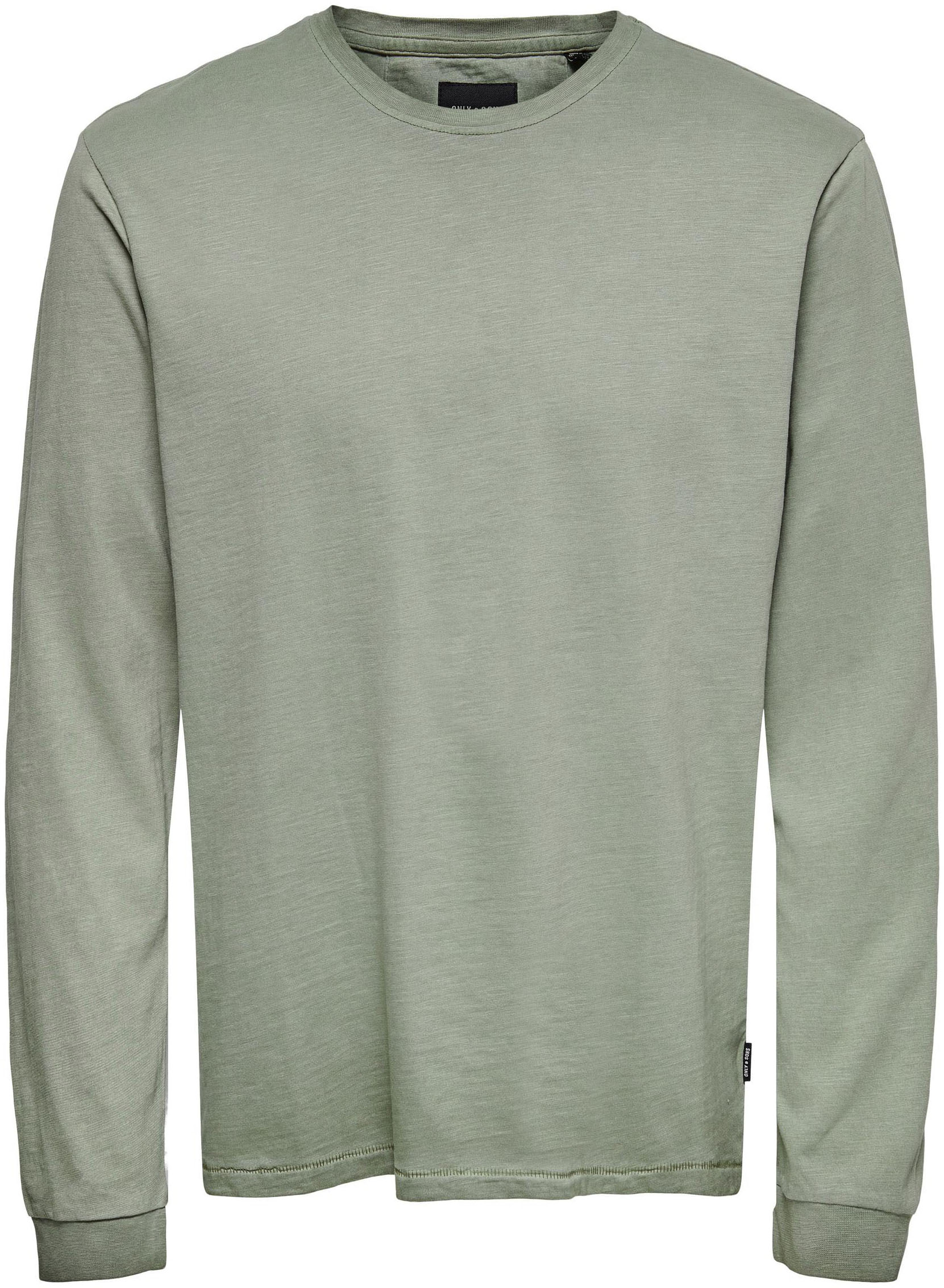 only & sons -  Langarmshirt MILLENIUM LIFE WASHED TEE