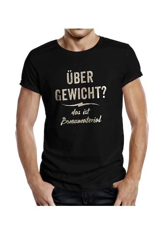Rahmenlos T - Shirt mit tollem Frontprint kaufen
