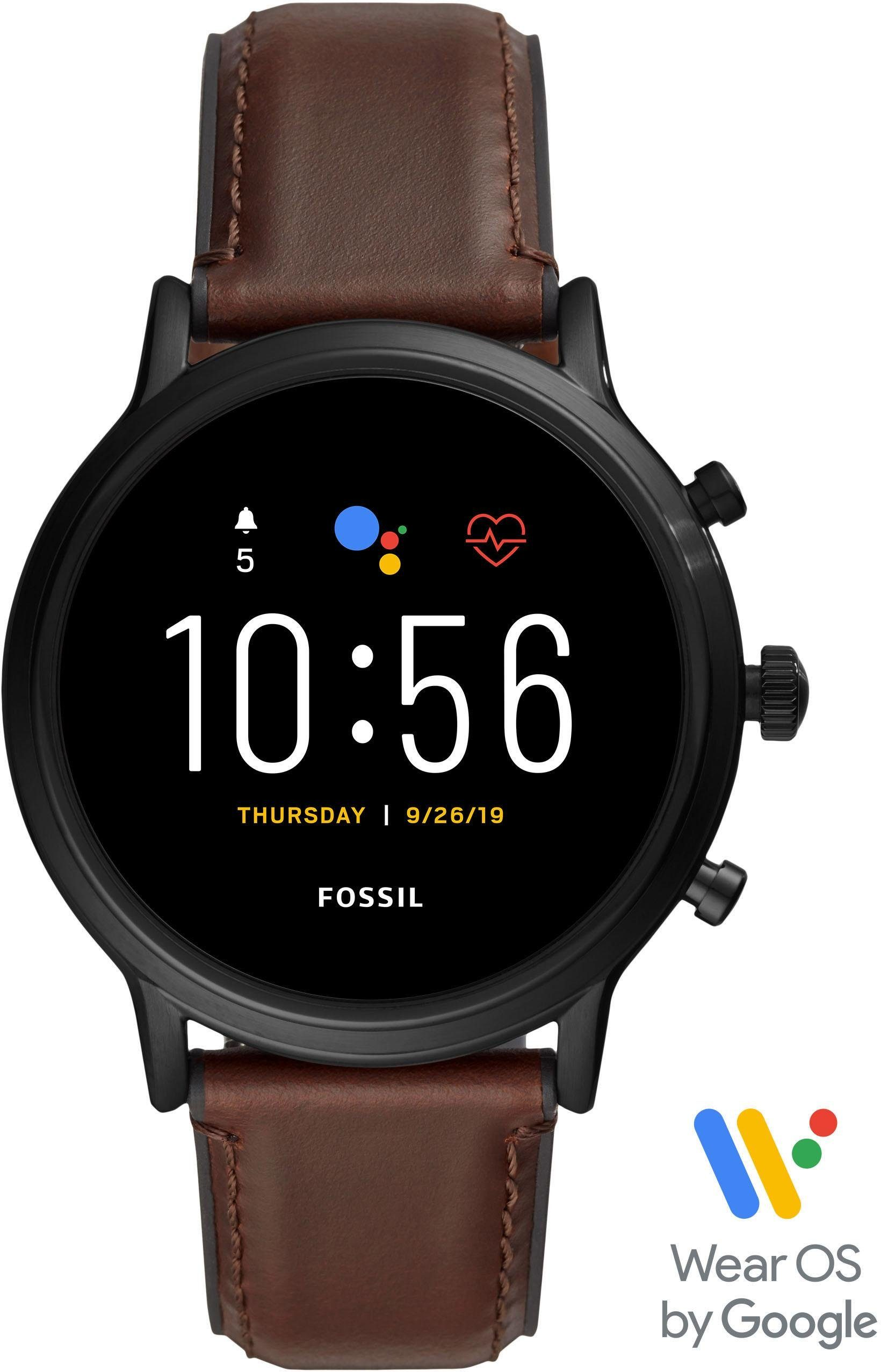 Fossil Smartwatches THE CARLYLE HR SMARTWATCH, FTW4026 Smartwatch | Uhren > Smartwatches | Fossil Smartwatches